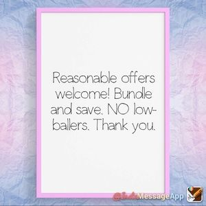 Accessories - Bundle and Save. Reasonable offers welcome.